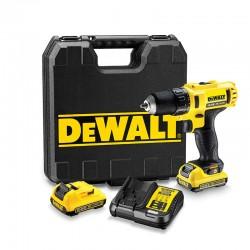DEWALT  Δραπ/βιδο DCD710D2 10.8V 2.0Ah XR 10mm