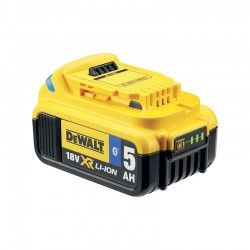 DEWALT Μπαταρία 18V 5.0Ah XR Li-ion Bluetooth DCB184B-XJ