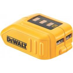 DEWALT DCB090 Powerbank Φορτιστής USB / adapter /αντάπτορας 10.8V-18V Λιθίου / Powerbank για φορητές συσκευές 4500 mAh / 15.000 mAh / 20.000 mAh