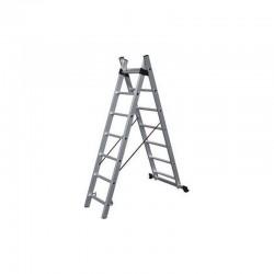 BULLE Σκάλες Αλουμινίου Διπλές Επεκτεινόμενες