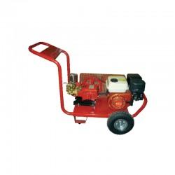 FARMATE Ψεκαστικό συγκροτήμα βενζίνης σε βάση με χερούλι και τροχούς, κινητήρα HYUNDAI 69328-7
