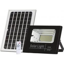 BORMANN BLF2200 Προβολέας LED Αδιάβροχος με Φωτοβολταϊκό Πάνελ Αισθητήρα Φωτός Τηλεκοντρόλ και Χρονοδιακόπτη 60W 5400Lumen 026945
