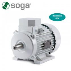 SOGA Hλεκτροκινητήρας 2.0Hp τριφασικός 2.800στρ. SOGA-MEC90S-20 εως 12 ΑΤΟΚΕΣ ΔΟΣΕΙΣ