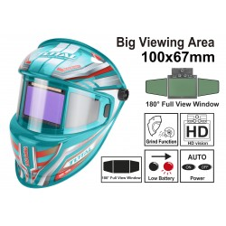 TOTAL TSP9101 Επαγγελματική μάσκα συγκόλλησης ηλεκτρονική πανοραμική