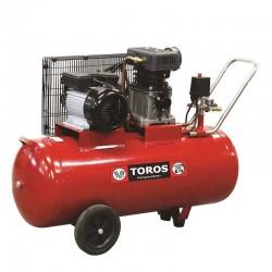 TOROS Αερ/στης 100Lt/3HP με Ιμάντα ZA65-100